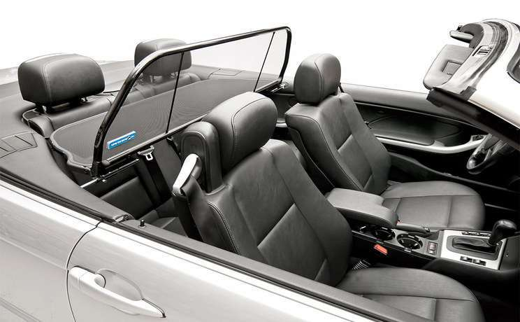 Bmw wind deflector 2000 to 2006 e46 convertible