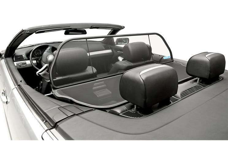 Bmw wind deflector 2000 to 2006 e46 convertible ltd
