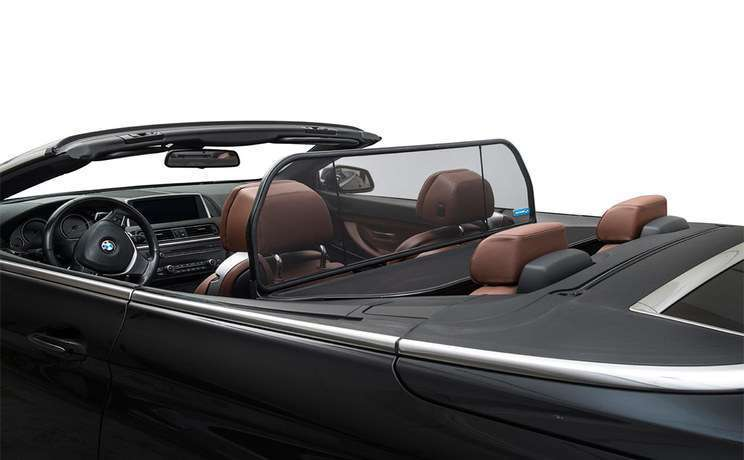 Bmw 6 640 650 m6 convertible 2011 to 2015 wind deflector from love the drive