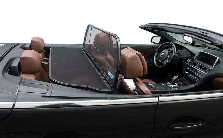Bmw 6 640 650 m6 convertible 2011 to 2015 windstop wind deflector