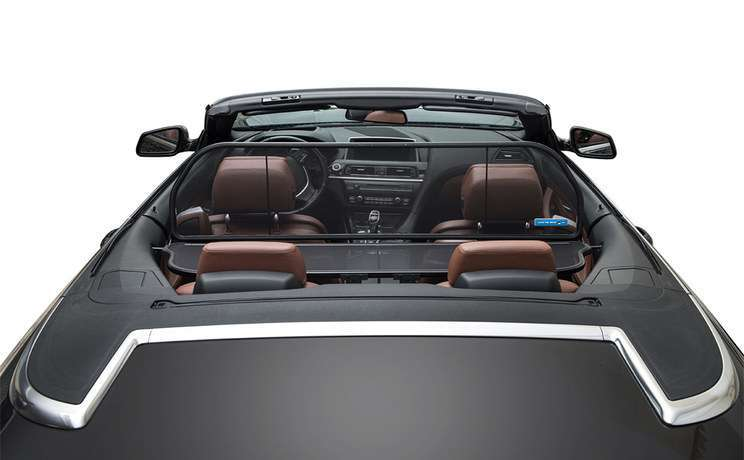Bmw 6 series 640 650 m6 convertible 2011 to 2015 windstop from love the drive