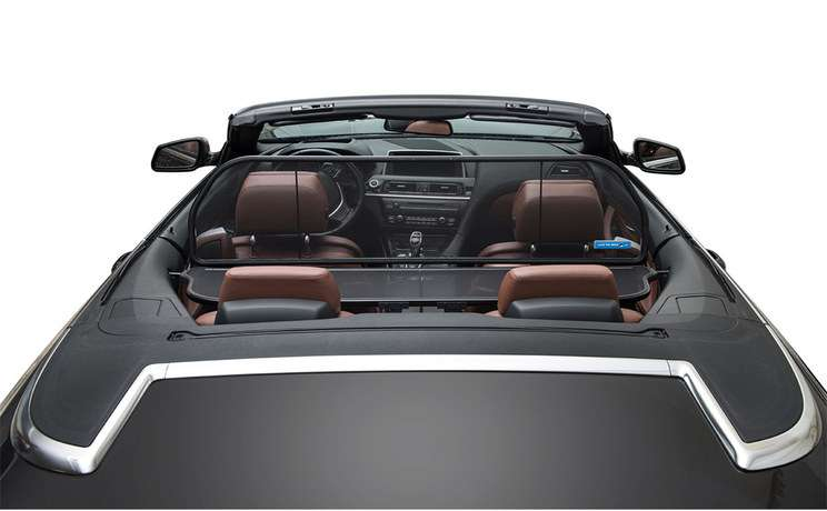 2004 to 2010 bmw 6 630i 645c 650i m6 convertible wind deflector from love the drive