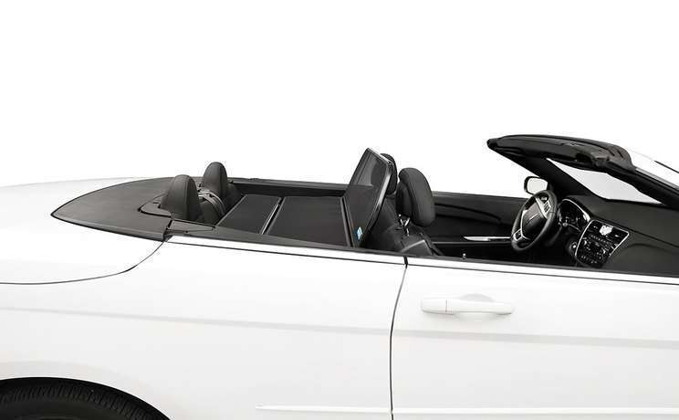 Chrysler 200 wind deflector 5