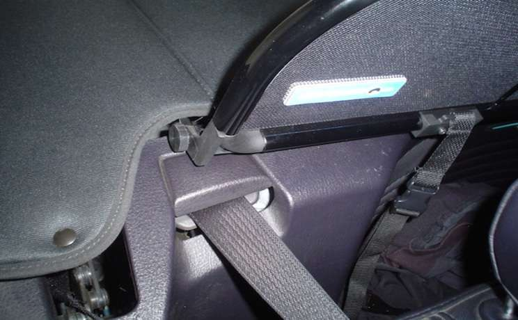 Thunderbird 2002 to 2005 wind deflector with boot cover