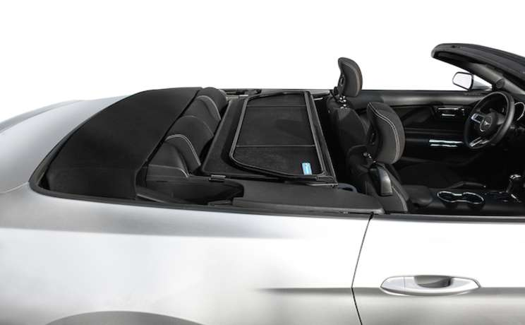 Wind deflector for 2015 mustang convertible by love the drive