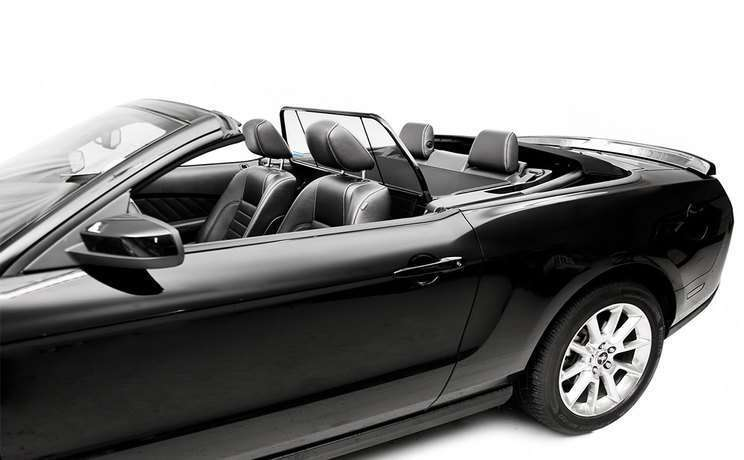 Wind deflector for mustang convertible from 2005 to 2014 by love the drive