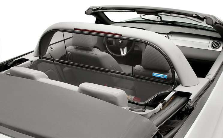 Wind deflector 1accessory for mustang convertible with cdc lightbar fit 2005 to 2018