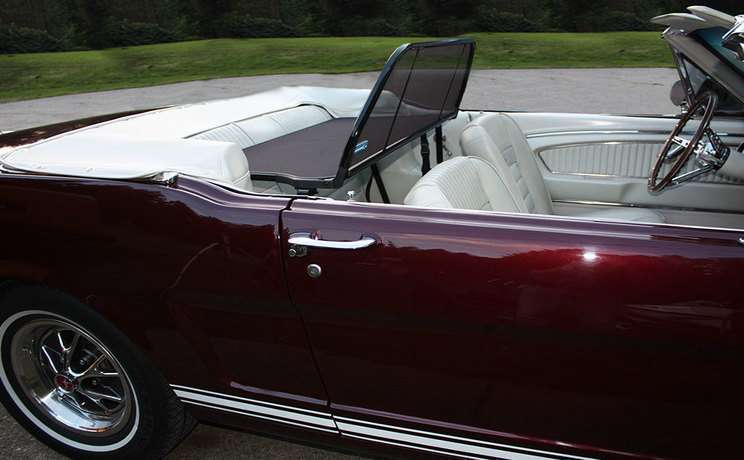 Mustang convertible 1965 wind screen by love the drive