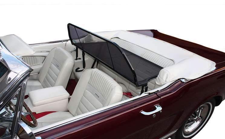 Mustang convertible 1966 wind deflector by love the drive
