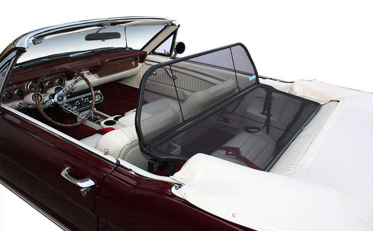 Mustang convertible 1964 wind deflector by love the drive
