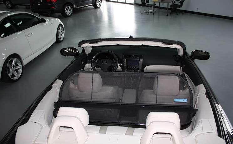 Lexus windscreen is 250 350 convertible