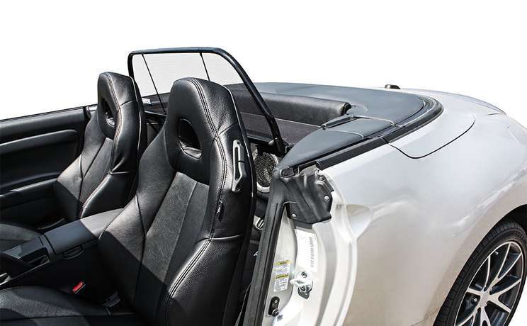 Spyder convertible with wind deflector 2006 to 2012 mitsubishi