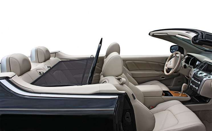 Murano convertible wind deflector front bracket by love the drive.