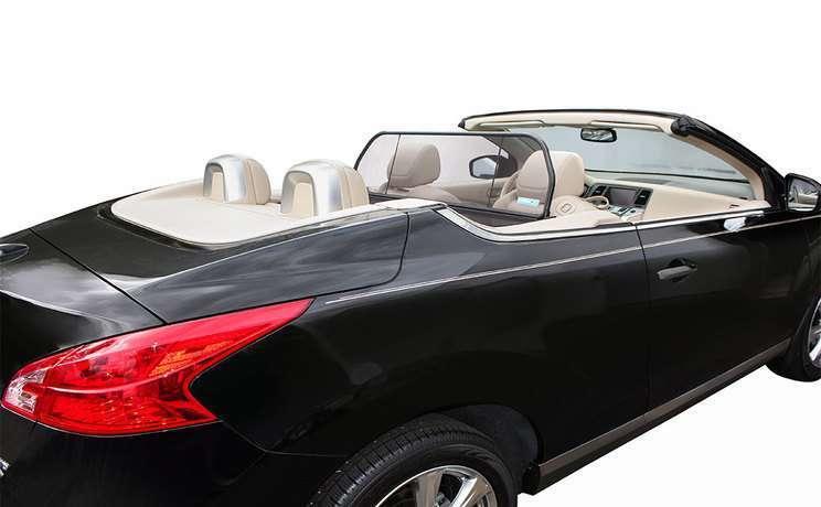 Murano crosscab wind deflector in trunk love the drive