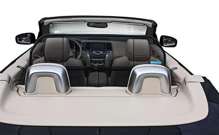 Nissan murano convertible wind deflector windscreen windstop by love the drive