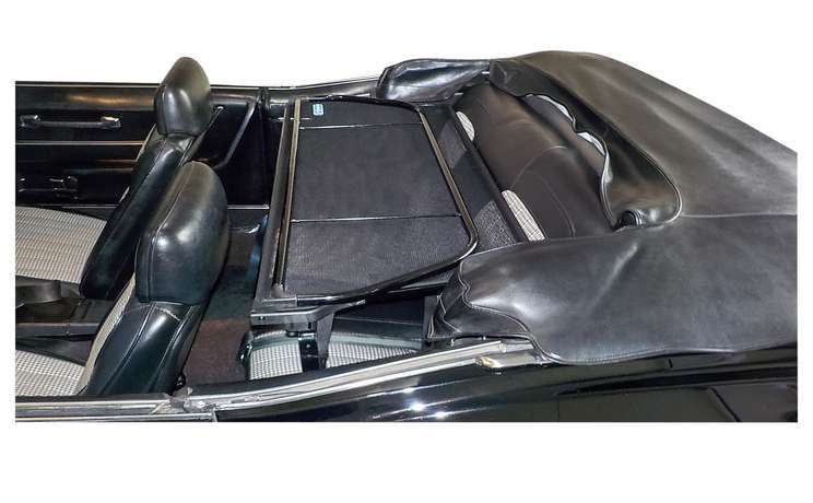 Camaro convertible wind deflector 1967 to 1969 also from firebird from 1967 to 1969 a