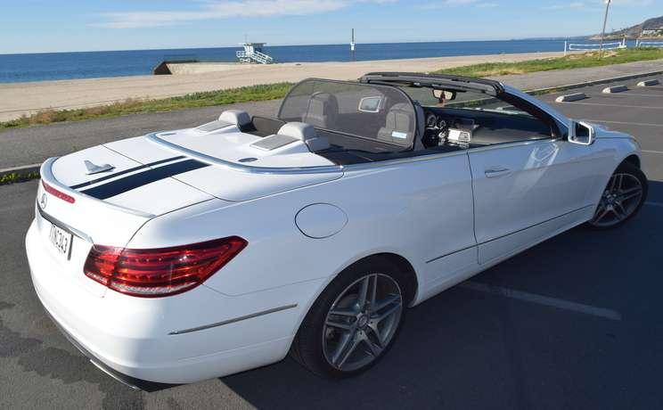 Mercedes convertible e350 and e550 wind deflector love the drive