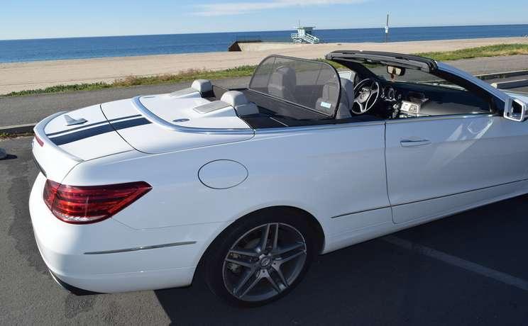Mercedes e350 and e550 wind deflector