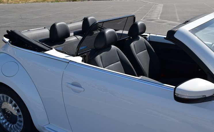 Vw beetle convertible from 2012 to 2019 wind deflector by love the drive passenger side front