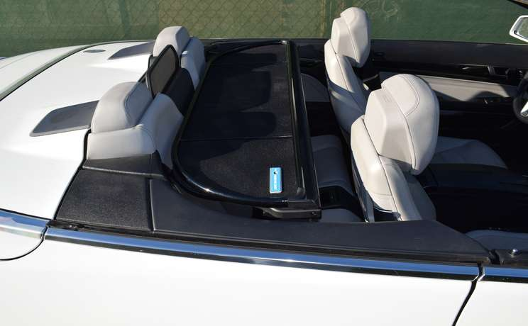 Mercedes e350 550 %28e class%29 2010 to 2016 wind deflector by love the drive folded down