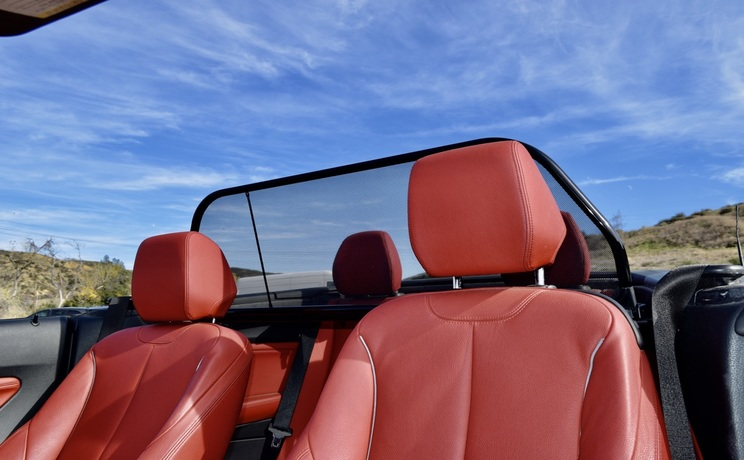 Bmw 2 convertible wind deflector by love the drive looking back photo 2