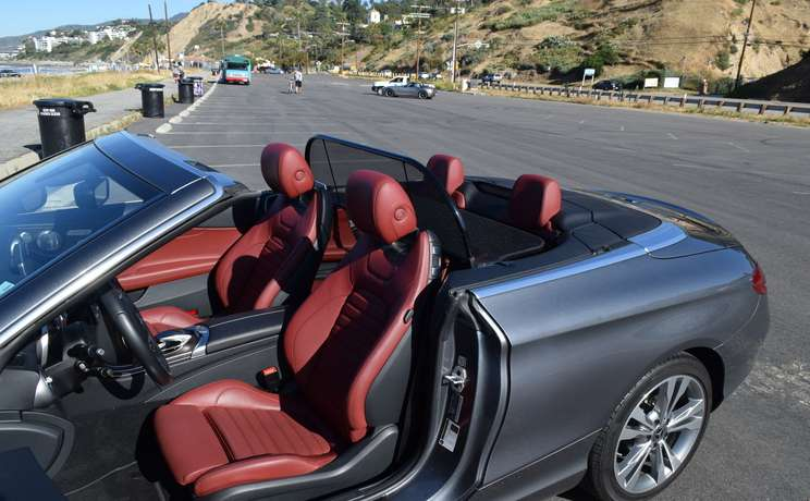 Mercedes c class convertible wind deflector are the  1 accessory for c class mercedes