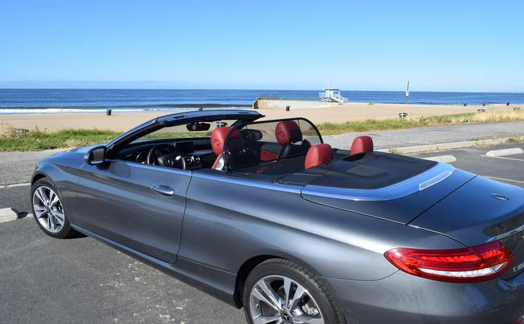 Mercedes convertible wind deflector the  1 accessory for c class mercedes convertible
