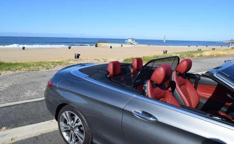 Mercedes convertible wind deflector the  1 accessory for c class mercedes convertibles