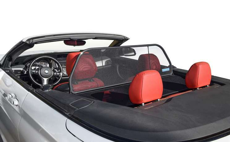 Bmw 2 convertible wind deflector by love the drive drivers from back