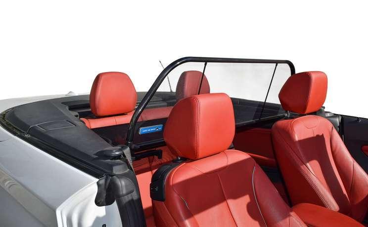Bmw 2 convertible wind deflector by love the drive passenger side door open